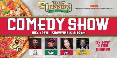 Stand Up Comedy Show at Mama Jennie's Italian Restaurant- Mike Vecchione tickets