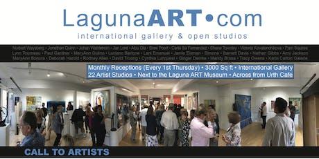 JULY 4  (6-9PM) 1st Thursdays Art Walk Laguna Beach : FOOD • WINE • MUSIC! tickets
