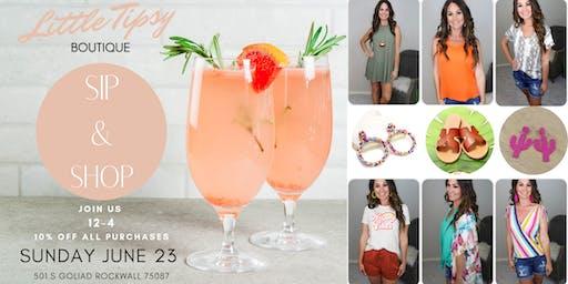 Little Tipsy Boutique's Summer Sip & Shop