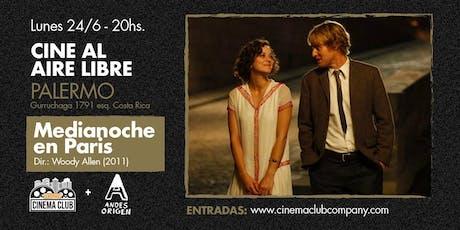 Cine al Aire Libre: MEDIANOCHE EN PARIS (2011) - Lunes 24/6 entradas
