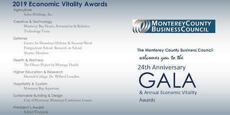24th Anniversary Gala & Annual Economic Vitality Awards tickets