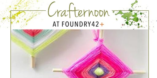 Crafternoon: God's Eye Weaving