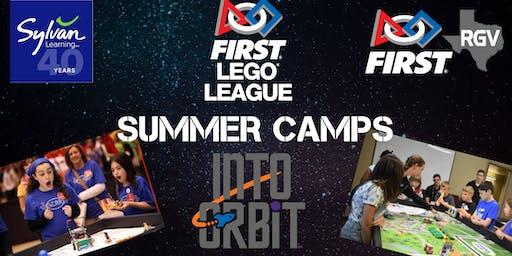 FIRST Lego League INTO ORBIT Summer Camp