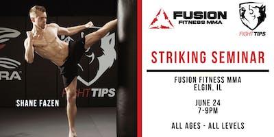 FIGHTTIPS Seminar at Fusion Fitness MMA