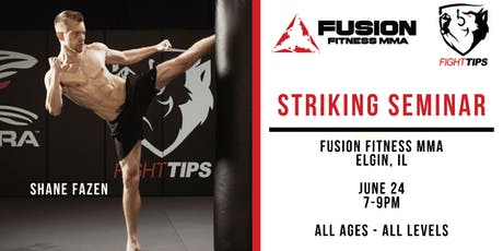 FIGHTTIPS Seminar at Fusion Fitness MMA tickets