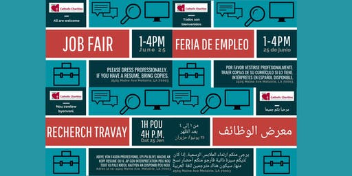 Community Job Fair Hosted by CCANO Immigration and Refugee Services