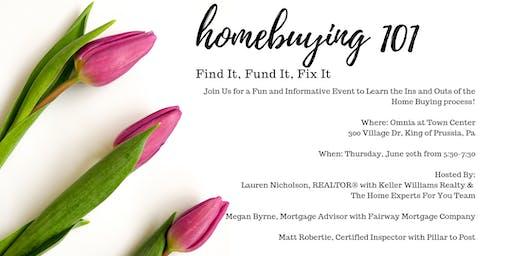 Homebuying 101: Find It, Fund It, Fix It