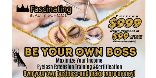 Everything Eyelash Extension Certification