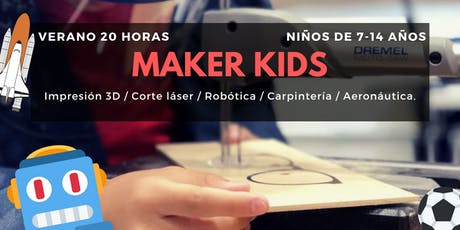 Maker Kids by IoT Fablab boletos