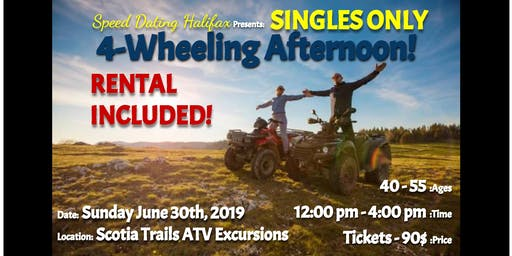 SINGLES ONLY 4-Wheeling Afternoon (Ages 40-55) - RENTAL INCLUDED!