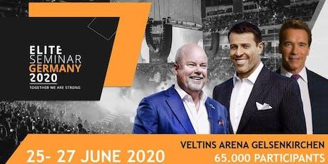 Elite Seminar 2020  mit Tony Robbins, Arnold Schwarzenegger & Eric Worre Tickets