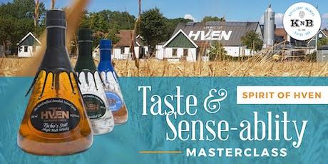 Taste & Sense-ability Masterclass (Spirits + Chocolate) tickets