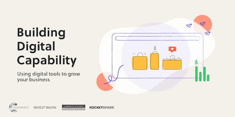 Building Digital Capability Series- eCommerce tickets