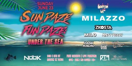 Sundaze Fundaze: Under The Sea ft. Milazzo tickets