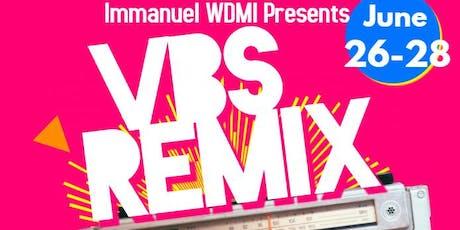 VBS Remix tickets