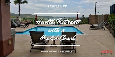 Health Retreat with a Health Coach tickets