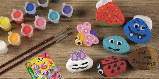 5TH ANNUAL ROCK PAINTING EXTRAVAGANZA!
