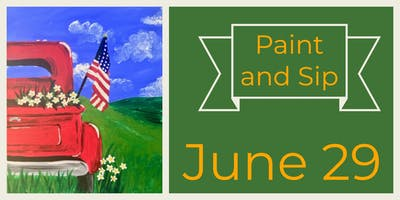 June 29 Early Evening Paint & Sip with Breezy Beckler