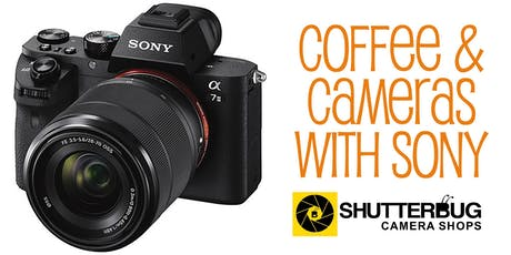 Coffee and Cameras with Sony tickets