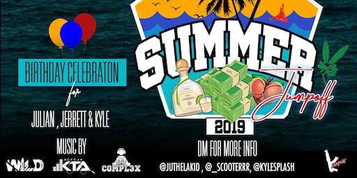 Summer Jumpoff: Birthday Celebration for Julian, Jerrett, & Kyle