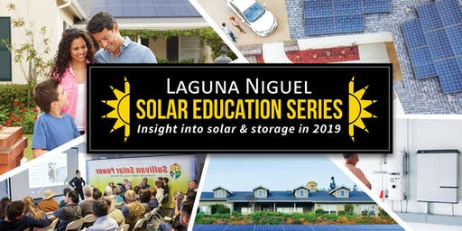 Laguna Niguel Solar Education Series