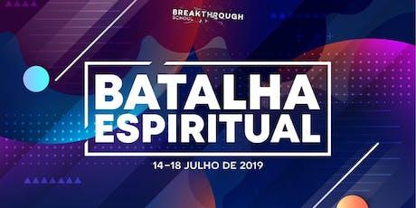 Batalha Espiritual ingressos