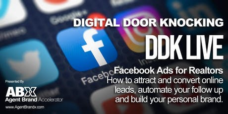 Facebook Ads for Realtors, How to attract and convert online leads. tickets