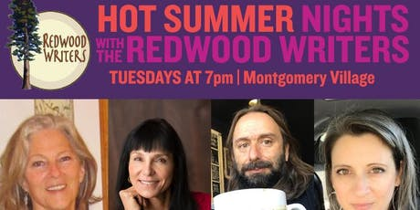 REDWOOD WRITERS: HOT SUMMER NIGHTS (7/30) tickets