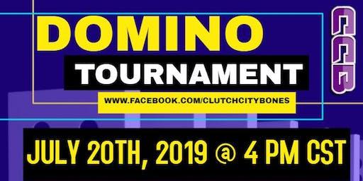 Clutch City Bones Domino Tournament