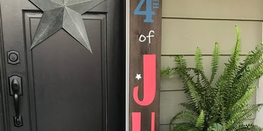 Porch Sign or Growth Ruler