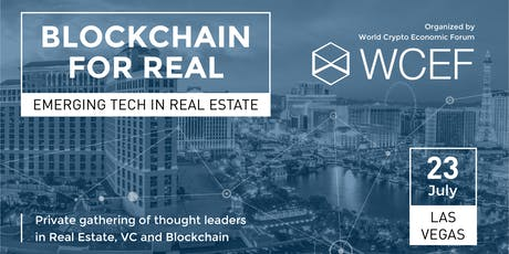 Blockchain For Real (Invitation-Only) tickets