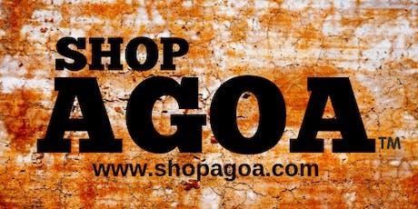 The 2019 ShopAGOA  tickets