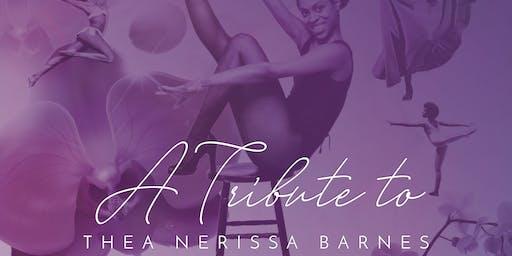 Thea Barnes Legacy Tribute