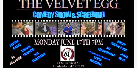 The Velvet Egg Comedy Show & Screening tickets