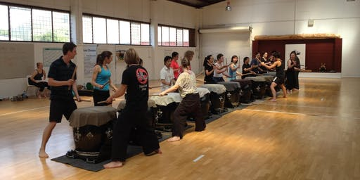 Taste of Taiko Drumming! - TWO HOUR workshop