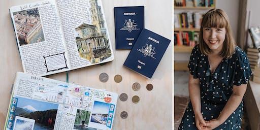 Milligram Travel Journal Workshop with Tamsien West - Melbourne Central