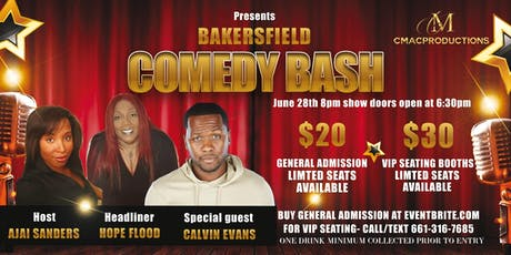 Bakersfield Comedy Bash tickets