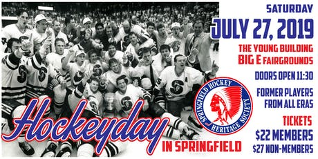 Hockeyday in Springfield 2019 tickets