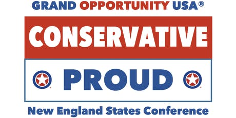 GOUSA's #ConservativeProud New England States Conference tickets