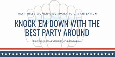 West Hills Womens Democratic Organization's Annual Fundraiser tickets