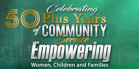 WOMEN BEHIND THE COMMUNITY, INC. (WO-BE-CO) CELEBRATING 50 + YEARS OF COMMUNITY SERVICE tickets