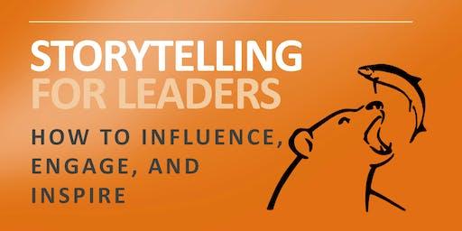 Storytelling For Leaders Workshop in Berlin Germany