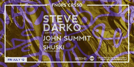 STEVE DARKO + JOHN SUMMIT + SHUSKI tickets