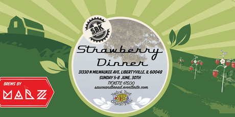 Strawberry Dinner at the Radical Root Farm 2019 tickets