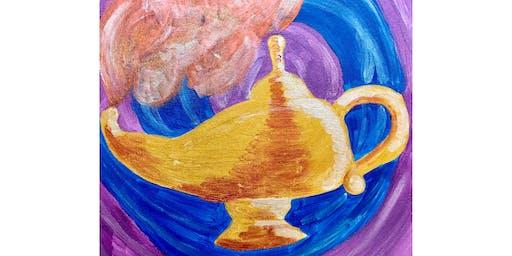 "Kids Open Paint (8yrs+)""Magic Lamp"""