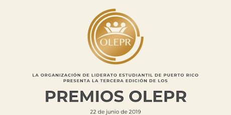Premios OLEPR tickets