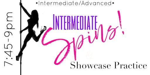 Monday 7/8-- Intermediate/advanced 7:45 - 9:00pm