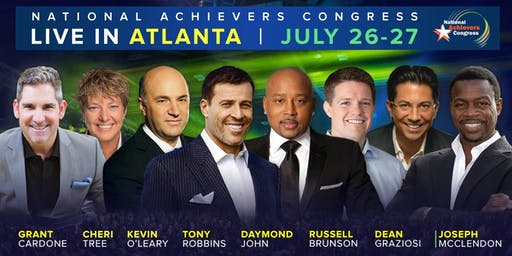#NACTOUR 2019 ATLANTA with Tony Robbins, Daymond John & Kevin O'Leary