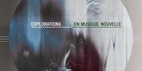 Explorations en Musique Nouvelle: Anna Webber // Michel Lambert tickets