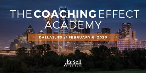 The Coaching Effect Academy by EcSell Institute, February 2020